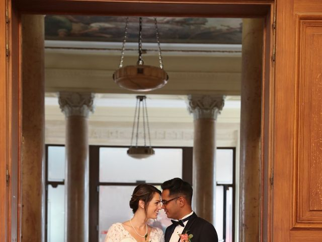 Le mariage de Ziyad et Clémence à Paris, Paris 36