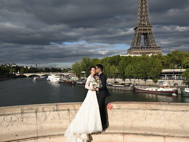 Le mariage de Ziyad et Clémence à Paris, Paris 38