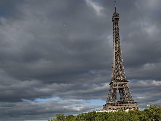 Le mariage de Ziyad et Clémence à Paris, Paris 39