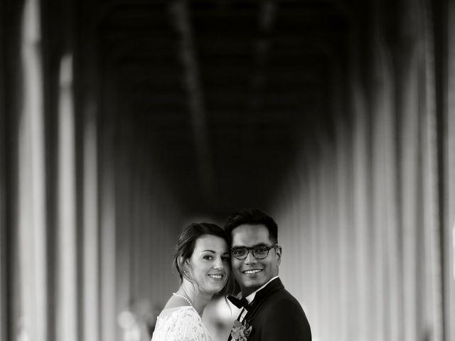 Le mariage de Ziyad et Clémence à Paris, Paris 44