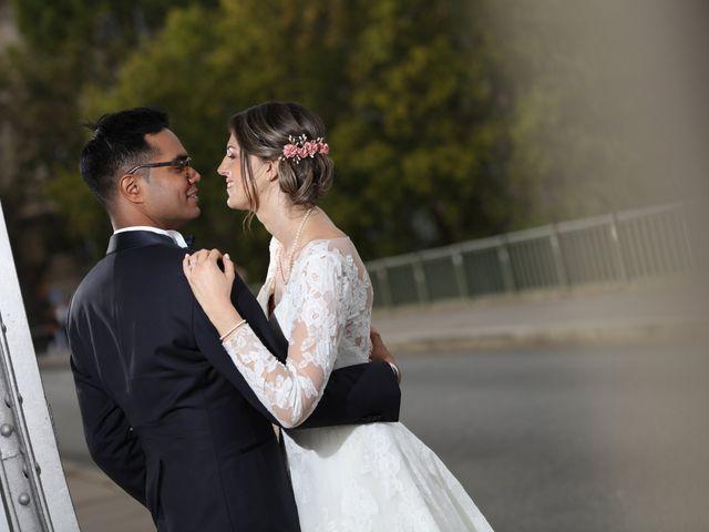 Le mariage de Ziyad et Clémence à Paris, Paris 45