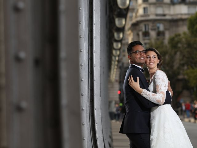 Le mariage de Ziyad et Clémence à Paris, Paris 48