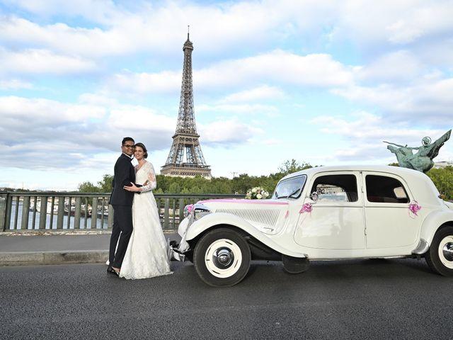 Le mariage de Ziyad et Clémence à Paris, Paris 51