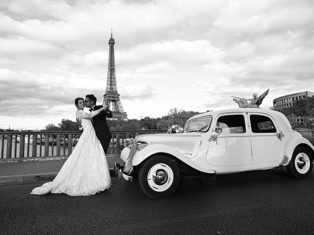 Le mariage de Ziyad et Clémence à Paris, Paris 52
