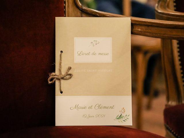 Le mariage de Clément et Marie à Neauphle-le-Château, Yvelines 5