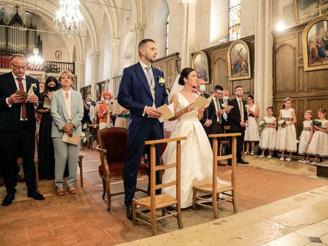 Le mariage de Clément et Marie à Neauphle-le-Château, Yvelines 12