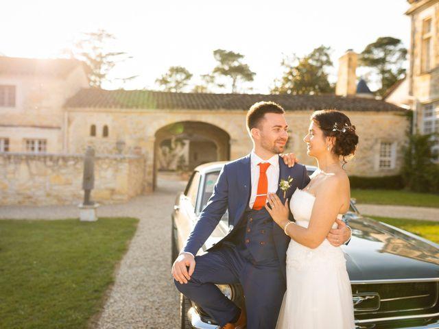 Le mariage de Benjamin et Garance à Bordeaux, Gironde 40