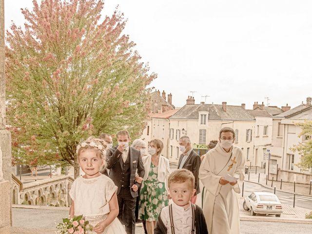 Le mariage de Matthias et Angélique à Beaupréau, Maine et Loire 2