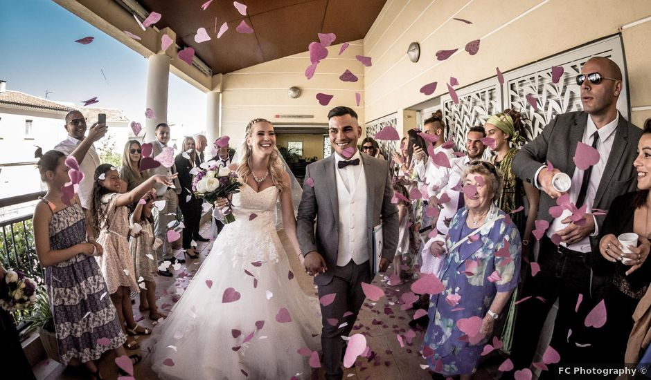 Le mariage de Mickael et Maéva à La Crau, Var
