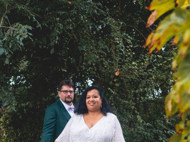 Le mariage de Joffrey et Silvia à Bannegon, Cher 45