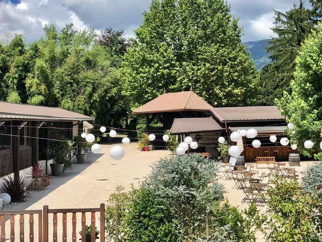 Le mariage de Bastien et Lorine à Aix-les-Bains, Savoie 11
