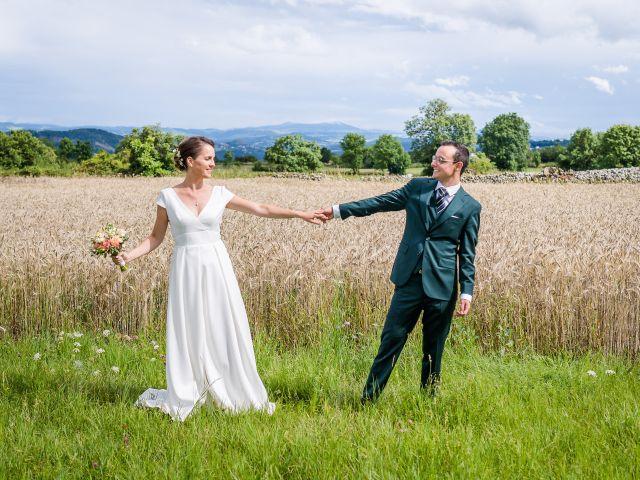 Le mariage de Quentin et Nathalie à Saint-Geneys-près-Saint-Paulien, Haute-Loire 30
