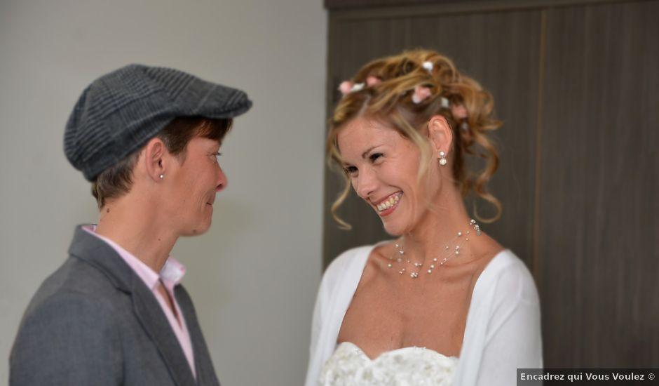 Le mariage de Nadege et Celine à Le Fuilet, Maine et Loire