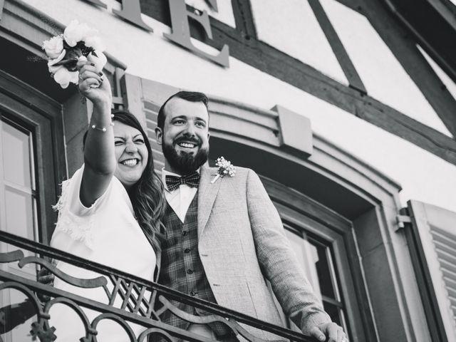 Le mariage de Sarah et Max à Schweighouse-sur-Moder, Bas Rhin 2