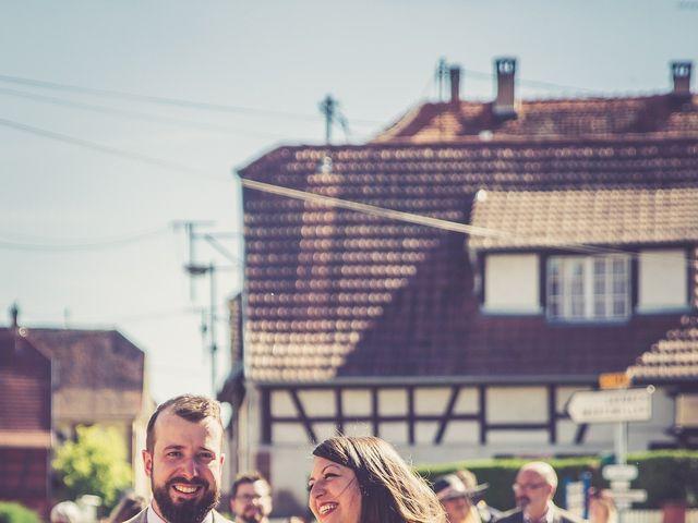 Le mariage de Sarah et Max à Schweighouse-sur-Moder, Bas Rhin 5