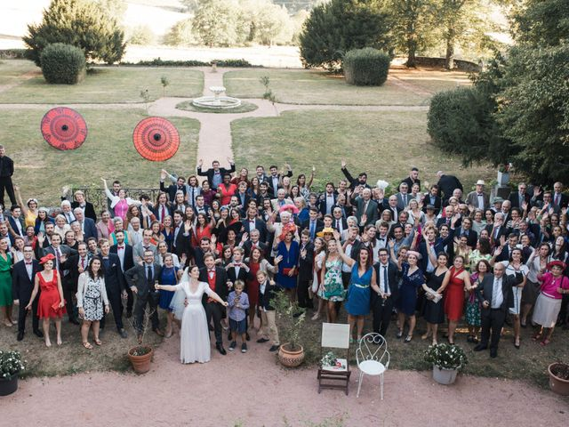 Le mariage de Gatien et Priscille à Saint-Laurent-de-Chamousset, Rhône 45