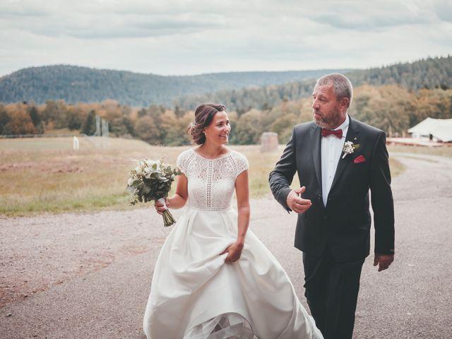 Le mariage de Raphaël et Océane à Wangenbourg, Bas Rhin 99