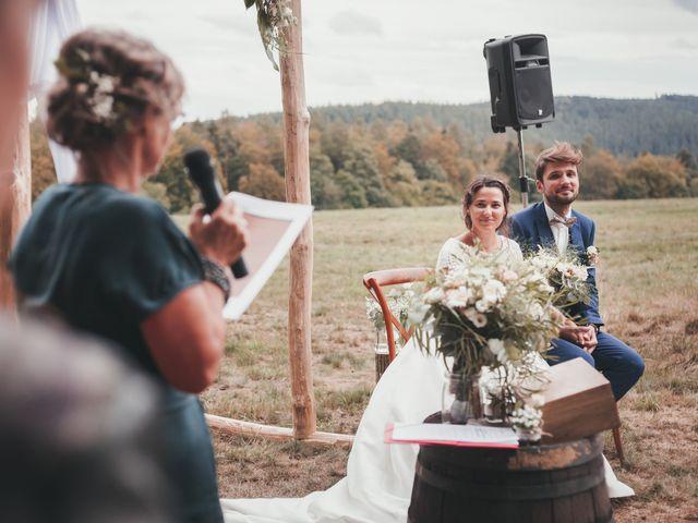 Le mariage de Raphaël et Océane à Wangenbourg, Bas Rhin 142