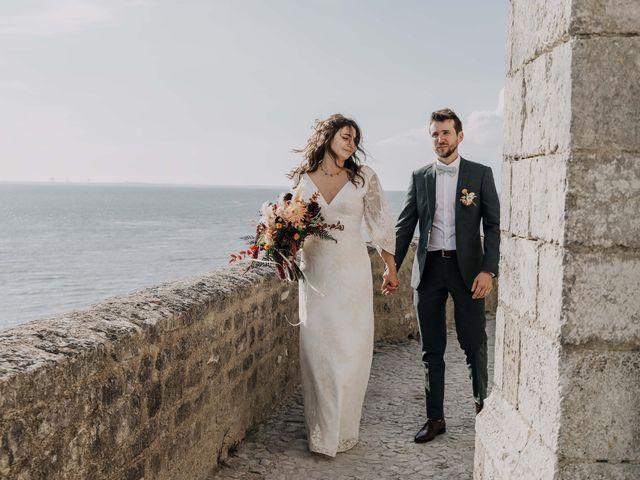 Le mariage de Arnaud et Claire à Cozes, Charente Maritime 7