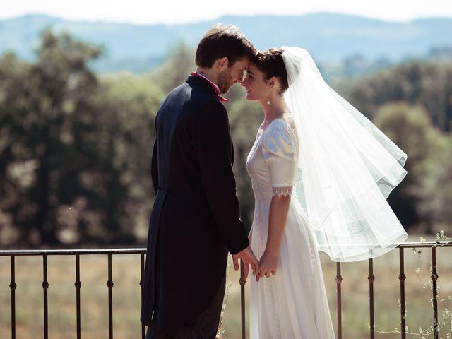 Le mariage de Gatien et Priscille à Saint-Laurent-de-Chamousset, Rhône 8