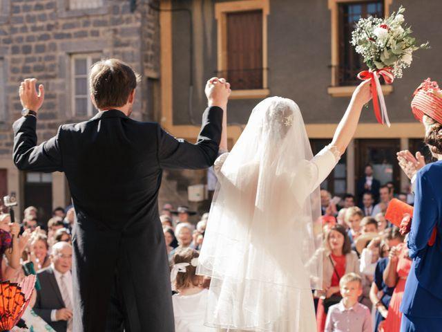 Le mariage de Gatien et Priscille à Saint-Laurent-de-Chamousset, Rhône 20