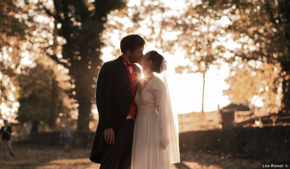 Le mariage de Gatien et Priscille à Saint-Laurent-de-Chamousset, Rhône