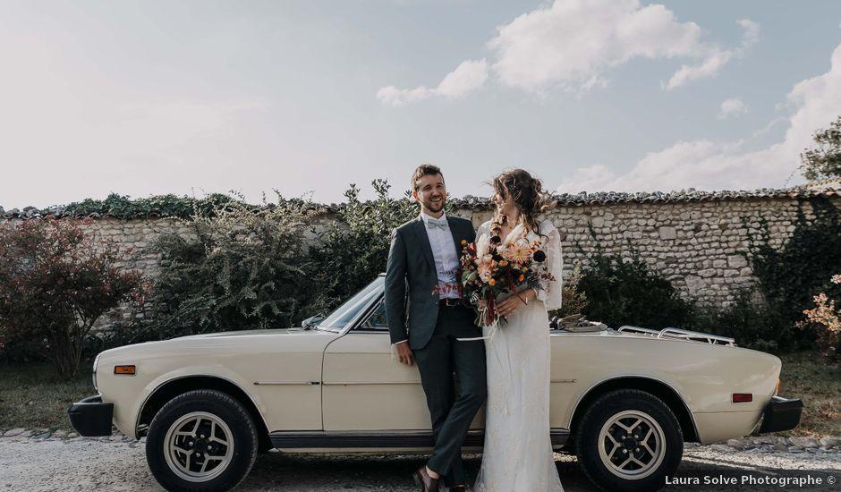 Le mariage de Arnaud et Claire à Cozes, Charente Maritime