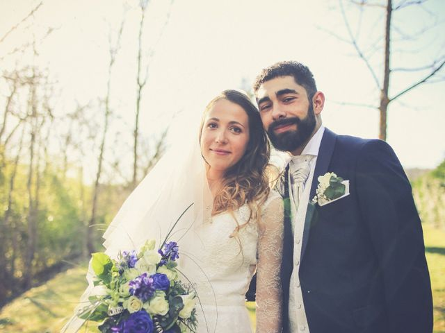 Le mariage de David et Laurène à Légny, Rhône 8