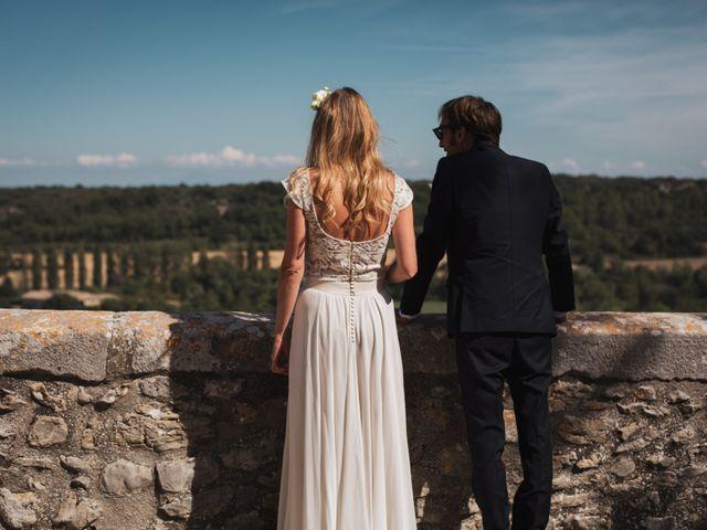 Le mariage de Clément et Marie à Goudargues, Gard 17