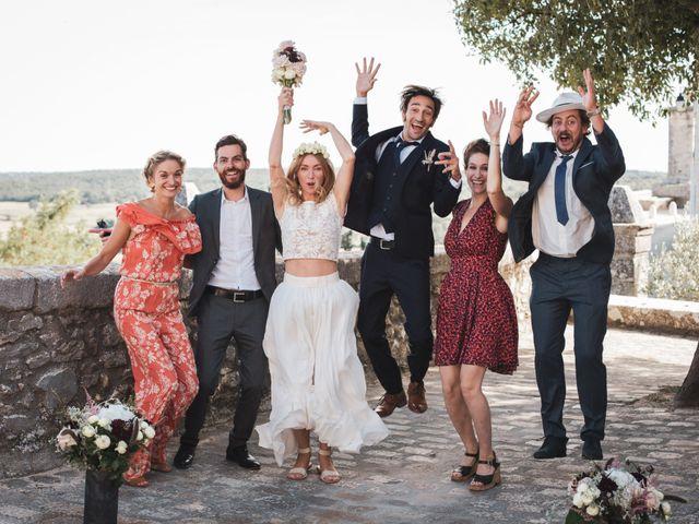 Le mariage de Clément et Marie à Goudargues, Gard 20