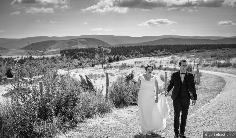 Le mariage de Pierre et Marion à La Bastide-Puylaurent, Lozère