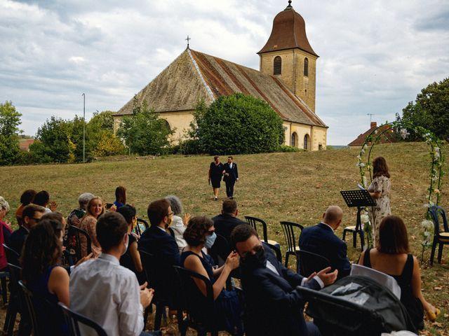 Le mariage de Mickaël et Julia à Gy, Haute-Saône 62