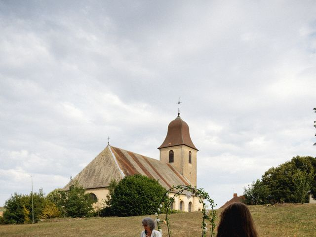 Le mariage de Mickaël et Julia à Gy, Haute-Saône 75