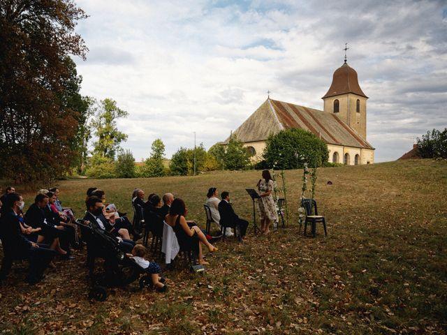 Le mariage de Mickaël et Julia à Gy, Haute-Saône 83