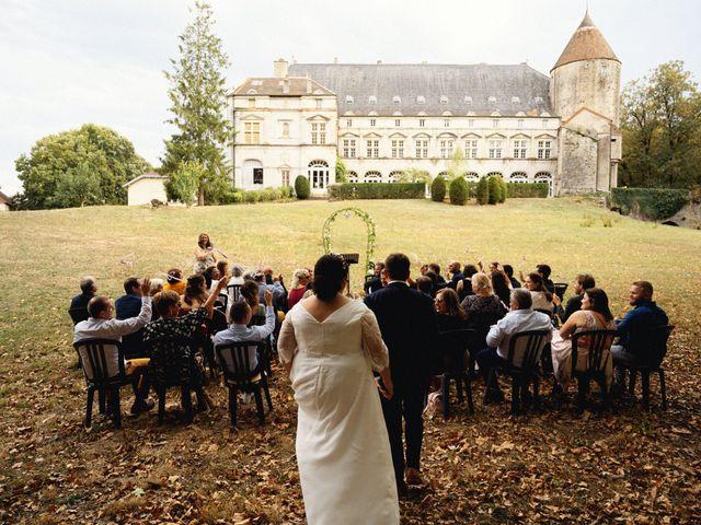 Le mariage de Mickaël et Julia à Gy, Haute-Saône 91