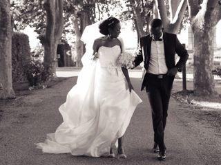 Le mariage de Ilunga et Rhose