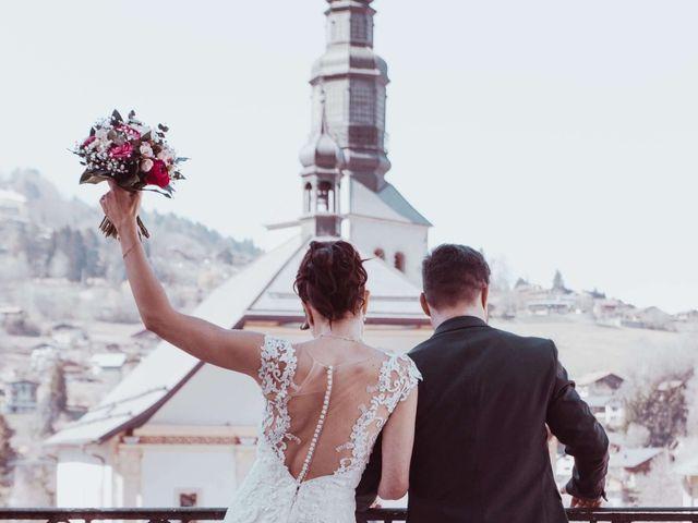 Le mariage de Julien et Amandine à Saint-Gervais-les-Bains, Haute-Savoie 14