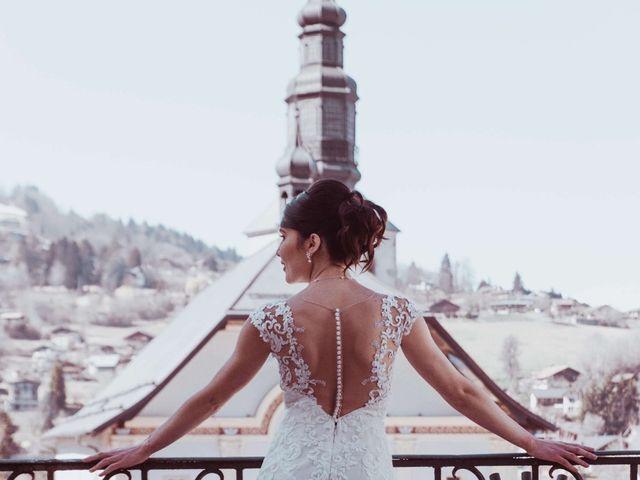 Le mariage de Julien et Amandine à Saint-Gervais-les-Bains, Haute-Savoie 1