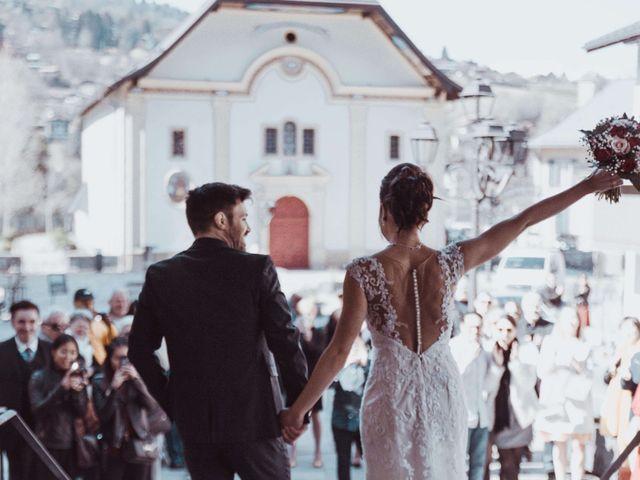 Le mariage de Julien et Amandine à Saint-Gervais-les-Bains, Haute-Savoie 15