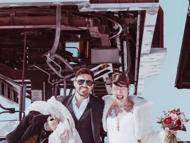 Le mariage de Julien et Amandine à Saint-Gervais-les-Bains, Haute-Savoie 17