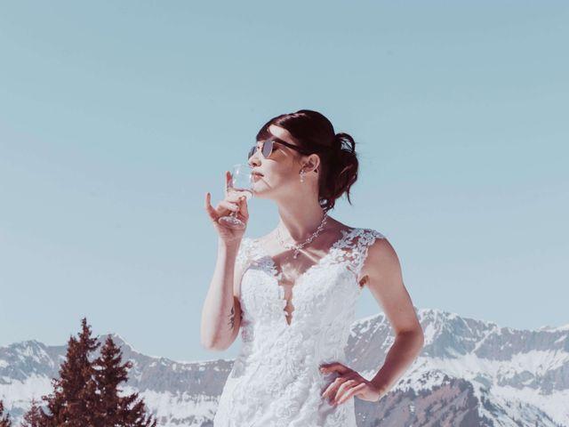 Le mariage de Julien et Amandine à Saint-Gervais-les-Bains, Haute-Savoie 21