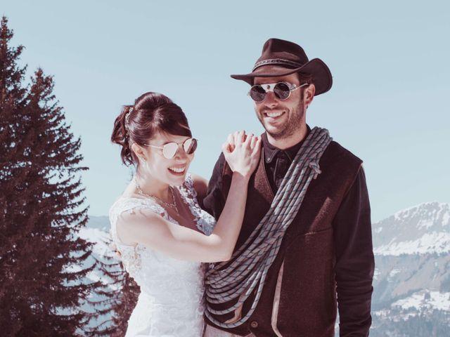 Le mariage de Julien et Amandine à Saint-Gervais-les-Bains, Haute-Savoie 22