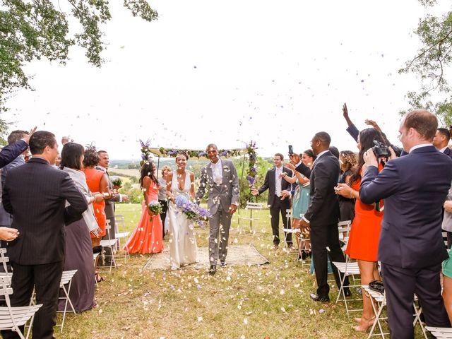 Le mariage de Deji et Sian à Auch, Gers 33
