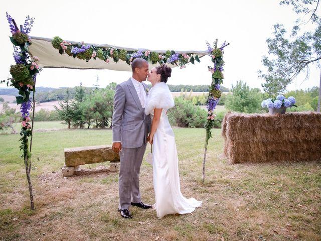 Le mariage de Deji et Sian à Auch, Gers 74