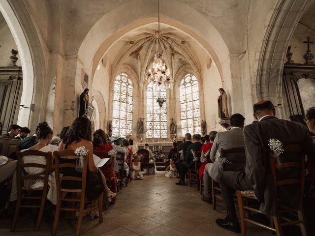 Le mariage de Vincent et Sarah à Fouchères, Aube 14
