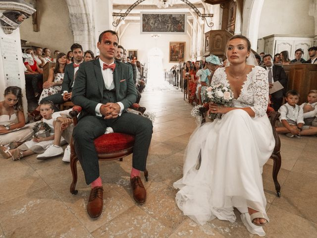 Le mariage de Vincent et Sarah à Fouchères, Aube 17