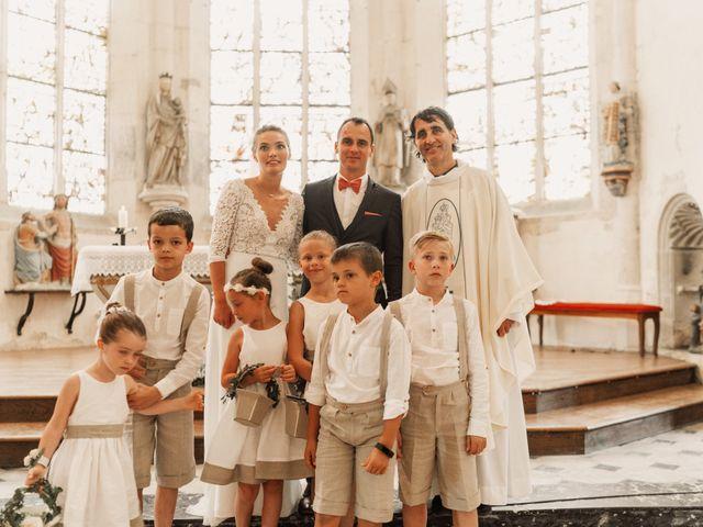 Le mariage de Vincent et Sarah à Fouchères, Aube 21