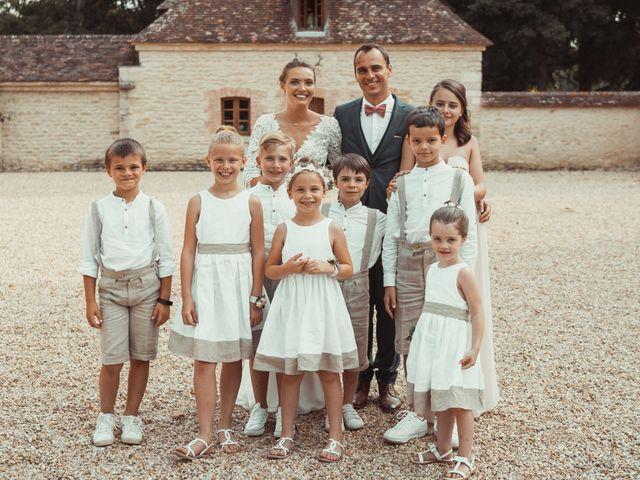 Le mariage de Vincent et Sarah à Fouchères, Aube 41