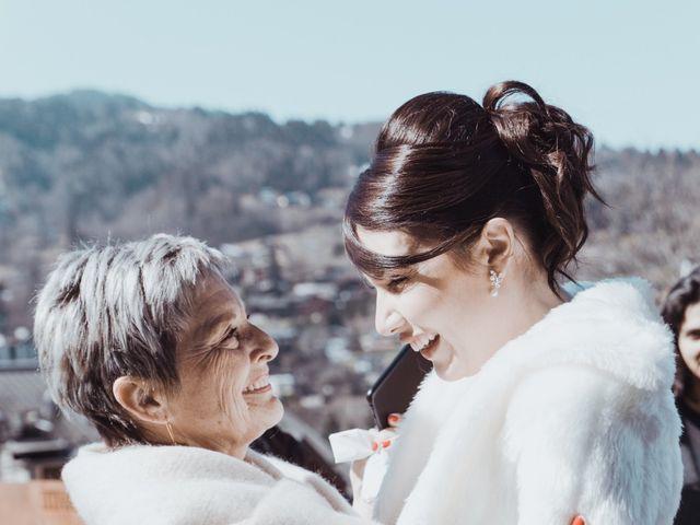 Le mariage de Julien et Amandine à Saint-Gervais-les-Bains, Haute-Savoie 4