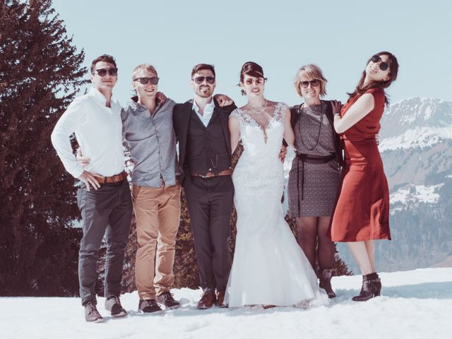 Le mariage de Julien et Amandine à Saint-Gervais-les-Bains, Haute-Savoie 23